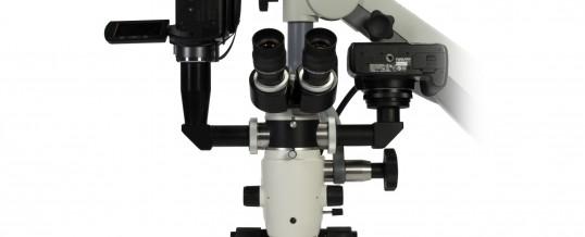 Mikroskop stomatologiczny w gabinecie w Rawiczu